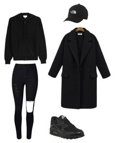 """Untitled #44"" by yasminabuwi on Polyvore featuring WithChic, The North Face, TSE and NIKE"