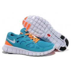 outlet store 42198 1262f Light Blue Orange Nike Free Run 2, Running Shoes For Men, Nike Air Max