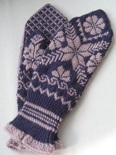 Selbu mittens for Ashlee by mlweaving, via Flickr