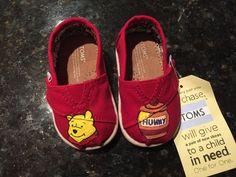 Custom Hand-Painted Disney Winnie the Pooh Tiny by AWalkInHerShoes