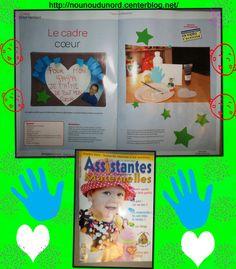 Cadre cœur Création pour le magazine assistantes maternelles N°112
