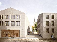 Domblick - Staab Architekten gewinnen in Paderborn