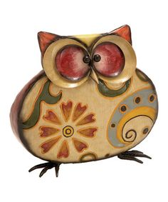 What a Hoot: Owl Décor | He just makes me smile.