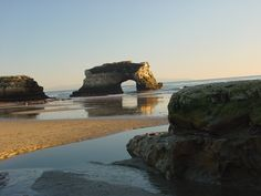 Natural bridges state park--cool rock formations and tide pools
