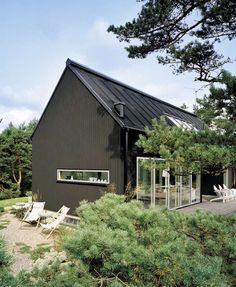 Yngsjö. A collaboration between Stockholm-based designer Lilja Löwenhielm and Ulrika and Göran Sommar. Summerhouse in Yngsjö, Sweden.