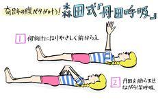ぽっこり下腹&身体の不調も解消♡寝ながら簡単「森田式丹田呼吸」をマスターせよ!