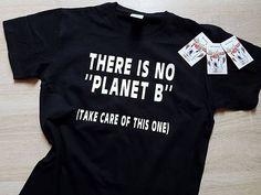 Er is geen planeet B Tshirt  Fashion grappige slogan womens