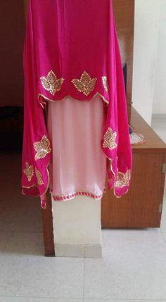 Indian salwar kemeez Click visit link above to find out Punjabi Suits Designer Boutique, Boutique Suits, Designer Punjabi Suits, Indian Designer Wear, Embroidery Suits Punjabi, Kurti Embroidery Design, Embroidery Dress, Hand Embroidery, Punjabi Dress