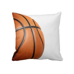Basketball pillow for your couch or bed.