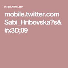 mobile.twitter.com Sabi_Hribovska?s=09