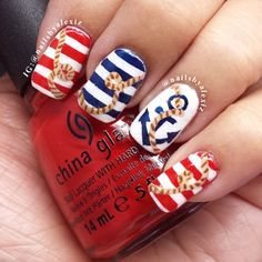 Cute Nail Design for The Summer