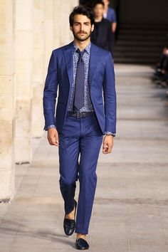 Photos of the Hermes Spring/Summer 2014 Men's Collection show from Paris Fashion Week Fashion Moda, Look Fashion, Fashion Show, Mens Fashion, Runway Fashion, Fashion Menswear, Fashion Styles, Fashion Gallery, Fashion Clothes