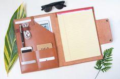 Personalized Leather Profolio iPad Pro iPad Mini Legal by HarLex