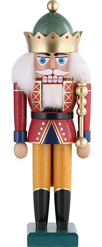 Nutcracker - King with Crown - 29 cm / 11 inch plus shipping Nutcracker Sweet, Nutcracker Soldier, Nutcracker Christmas, All Things Christmas, Christmas Crafts, Merry Christmas, Christmas Decorations, Christmas Ornaments, Holiday Decor