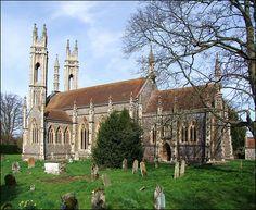 Booton church, Norfolk.