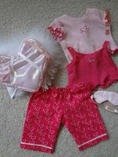 Selfless Brand *nib* American Girl Fan Club Outfit For Dolls 2019 Latest Style Online Sale 50% By Brand, Company, Character
