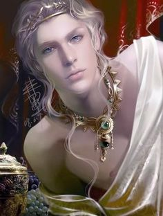 Finrod look-a-like - or Sauron, sometimes Art by Heise. http://heise.deviantart.com/