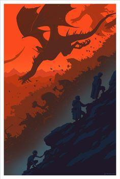 Frodo, Sam, Gollum, Sauron´s army