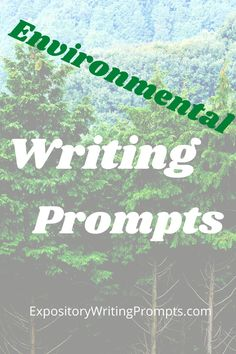 Get your students thinking more about the world around them and challenge them to write essays using these writing prompts on the environment. Whether you are discussing recycling, air pollution, or what to do with public lands, these environmental writing prompts will get your students thinking a little greener. #EnvironmentalWritingPrompts #WritingPromptsAboutTheEnvironment Middle School Writing Prompts, Persuasive Writing Prompts, Argumentative Writing, 4th Grade Writing, Paragraph Writing, Narrative Writing, Informational Writing, Writing Workshop, Teaching Writing