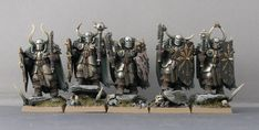 Chaos warriors. Silver and gold scheme