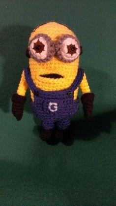Crochet Amigurumi Despicable Me Minion