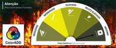 COLOR IS FOR ALL!!! #colorblind #colorforall #colors #accessibility #innovation #design #daltonismo #firefighter #fire #danger #forests #cores #inovação #acessibilidade #acoréparatodos #perigo #ServiçosFlorestais #InstitutoPortuguêsdoMaredaAtmosfera #IPMA #incêndios #bombeiros #florestas #portugal