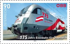 Stamp: 175 years Austrian Railways (Austria) (175 years Austrian Railways) Mi:AT 3040,Yt:AT 2869,Sg:AT 3193,ANK:AT 3069,WAD:AT071.12