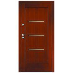 Drzwi zewnętrzne drewniane płycinowe CAL Klimczok kolekcja Nowoczesna - Drzwi i skrzydła drzwiowe - Drzwi Zewnętrzne - Drzwi i Podłogi VOX