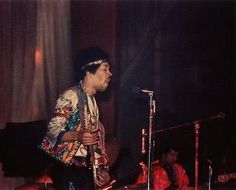 Jimi Hendrix at the Swing Auditorium 1970, San Bernardino, California!