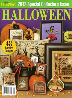 Gallery.ru / Фото #1 - Just Cross Stitch 2012 Halloween - tymannost