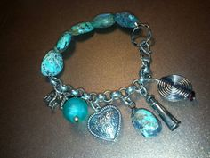 Turquoise and charms!