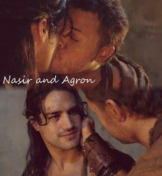 Spartacus' Nasir and Agron.