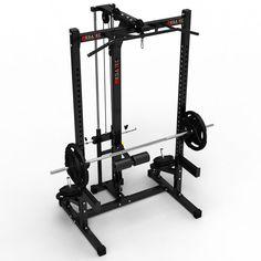 Das Half Rack mit Latzuggerät Plate-Load hat eine Bautiefe von 102 cm und eignet sich ausgesprochen gut für Athleten die Platz sparen wollen, aber keine Kompromisse eingehen, wenn es ums Trainng geht. Das home Gym auf kleinsten Raum zu einem unschlagbaren Preis. #halfrack #megatec #megafitness http://www.megafitness-shop.info/Kraftsport/Kraftgeraete-Uebersicht/Power-Rack/MegaTec-Half-Rack-mit-Latzug-Plate-Load--3567.html