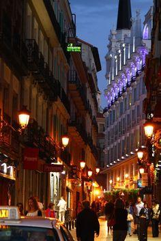 nightlife in madrid...