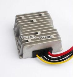 29.00$  Watch here - DC-DC Power transfomer  buck boost Converter 12V Up to 48V 6A 288W Regulator 320G  #buyonlinewebsite