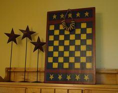 primitive checkerboard games | Primitive Star Checkerboard | ★ Game Boards ★