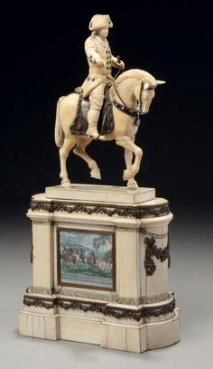 La représentation de Frédéric II (1712-1786) roi de Prusse
