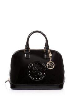 Cool Shine Dome Satchel Bag