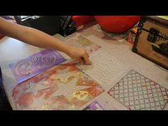Adding texture was one of her favorite parts of the process as well.  Here are some of her favorite things about gelli printing: Sophie's Favorite Stencils for Gelli Printing