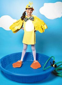Duck Costume — Stick or Treat with Duct Tape!