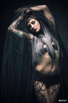 Model: Vertina Photo: Sami Siilin Photography Welcome to Gothic and Amazing |www.gothicandamazing.org