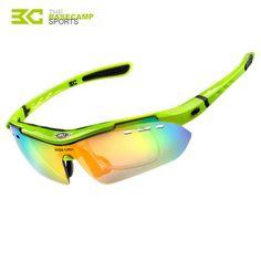 cdf46f3e45 BASECAMP 5 Lens Polarized Cycling Glasses MTB 2016 TR90 Cycling Eyes Men Glasses  Goggles Cycling Eyewear Sport Bike Sunglasses