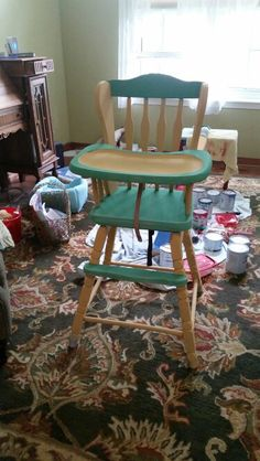 High Chair for Colin, after