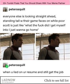 He knows he's going up the ass Avengers Cast, Avengers Memes, Marvel Memes, Marvel Funny, Marvel Avengers, Marvel Comics, Comic Superheroes, Tumblr Posts, Avengers Imagines
