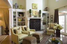 2010 Knoxville Symphony Show House - Greatroom (The Cottage Door Interiors)