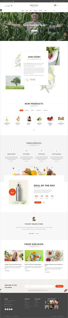 Organie is a wonderful responsive 12in1 #Prestashop theme for #webdev stunning organic #store eCommerce websites with advanced admin module, extremely customizable download now➩ https://themeforest.net/item/organie-a-delightful-organic-store-ecommerce-prestashop-theme/19206461?ref=Datasata