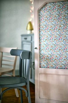 Monday Musings over on the blog: Liberty Fabric Door  spotted on Heart Handmade