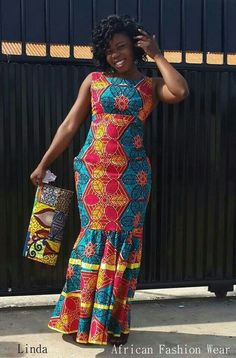6e3bd3552cba8f Ankara look that feel modern   fashion forward! Ankara fabrics are  versatile