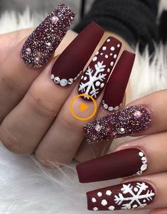 39 chic acrylic gel coffin nails design ideas acrylic nails nail beauty makeup Wondrous Winter Nail Design Ideas For 2020 – The Glossychic Design 63 Cute Nail Designs for Every Nail Length & Season: Cute Nails to Try 22 super easy nail art designs and … Cute Acrylic Nails, Glitter Nail Art, Acrylic Nail Designs, Cute Nails, Pretty Nails, Gold Glitter, Coffin Nails Long, Stiletto Nails, Long Nails