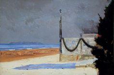 Edi Hila, En attendant, 2001